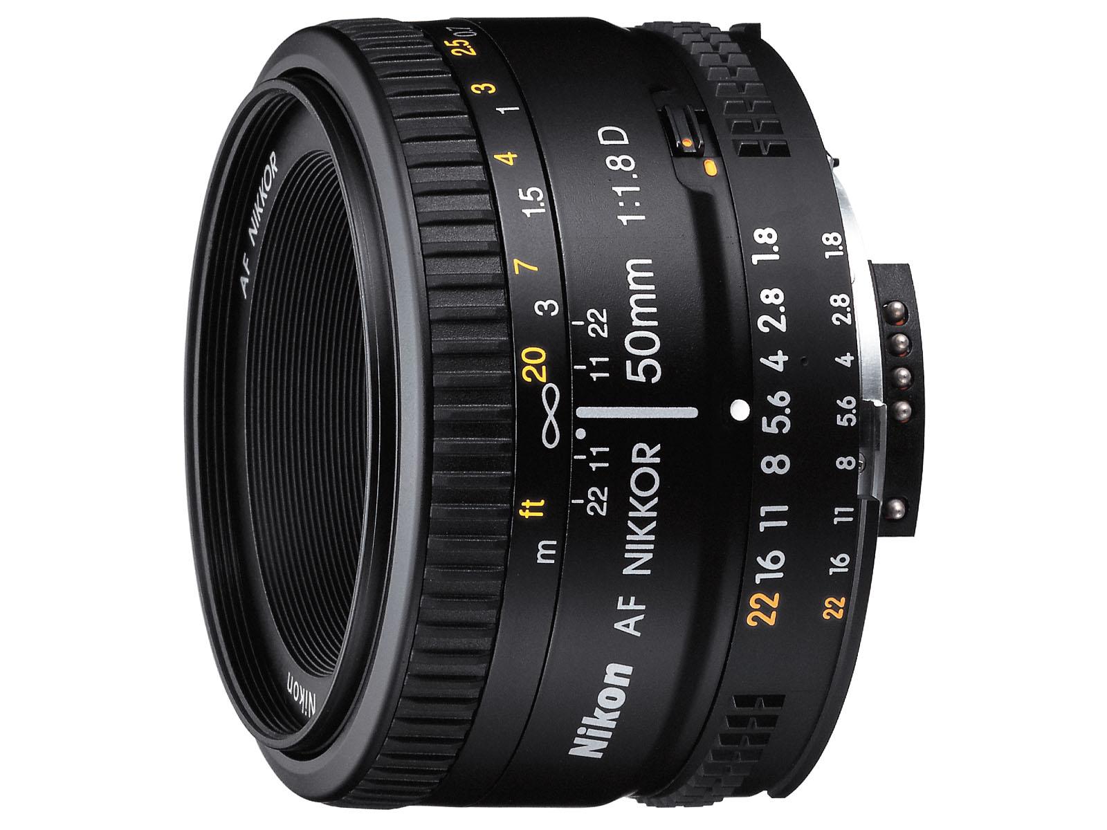 Nikon nikkor 50mm 1.8 d 4