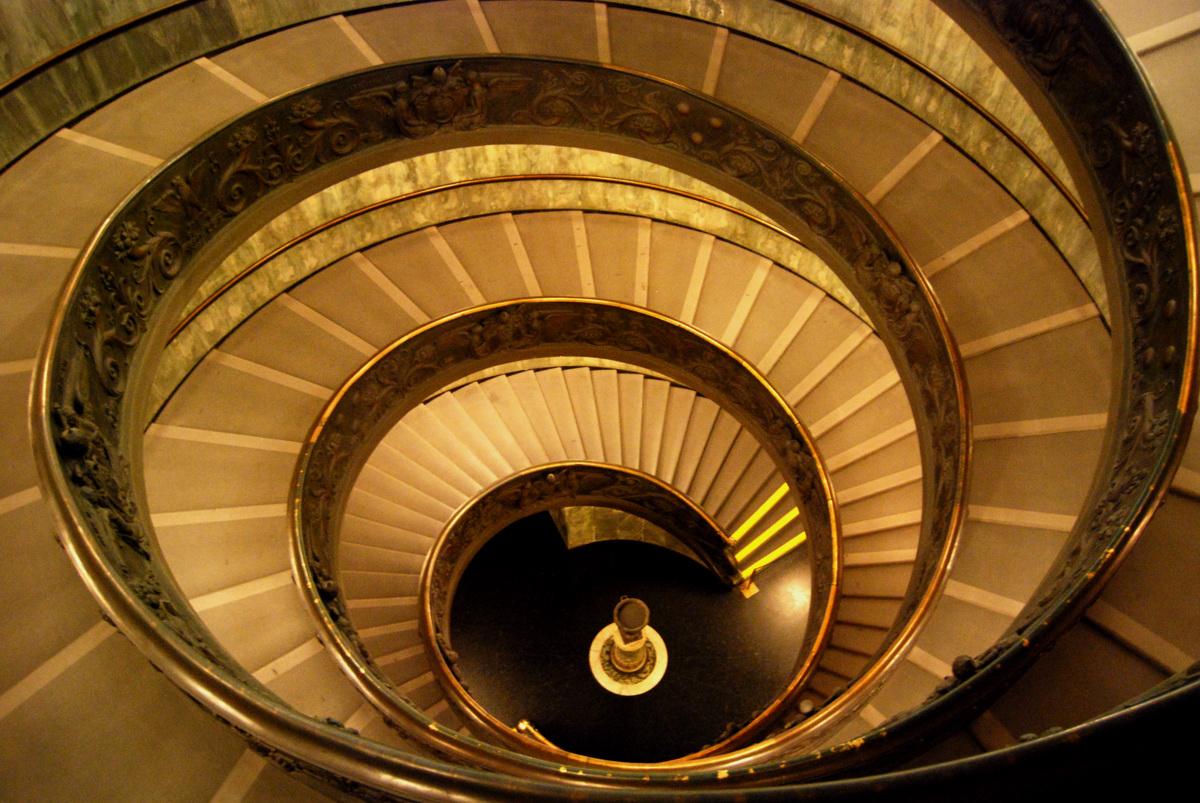 escalier en colimacon vatican